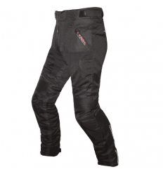 HEAT WAVE 4 SEASON - Pantalone moto uomo a 3 strati - Nero