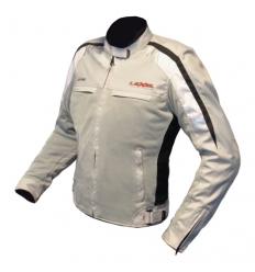 Giubbotto moto Donna LADY AIR IVOK 1.5 a 2 strati colore Grigio chiaro