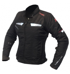 Lady R-EVOLUTION 1.5 - Giubbotto corto moto donna a 3 strati - Nero