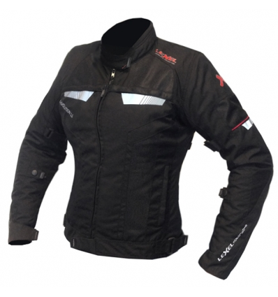 newest 27d03 1af8d Giubbotto moto donna Lady R-EVOLUTION 1.5 a 3 strati Lexel motorbike