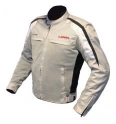 Giubbotto moto Uomo MAN AIR IVOK 1.5 a 2 strati colore Grigio Chiaro