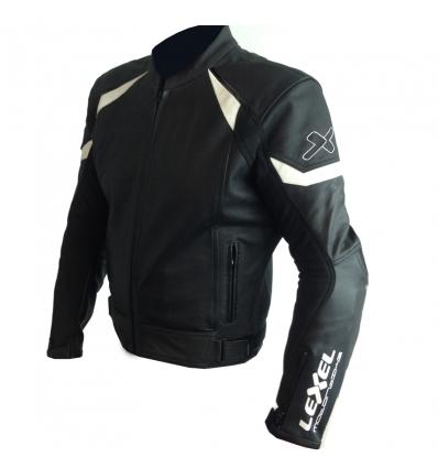 Giubbotto moto uomo Man  GGP 1.5 SPORT-TOURING in pelle  colore Nero