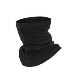 Collare moto unisex in cotone, colore Nero