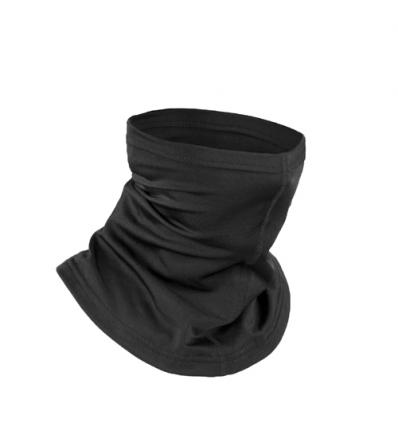 Collare moto unisex in lycra, colore Nero