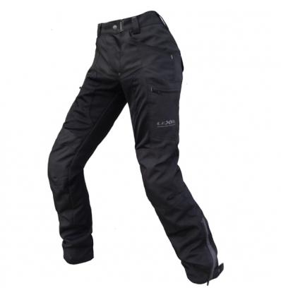 Pantalone moto donna Lady VERSUS a 2 strati colore Nero