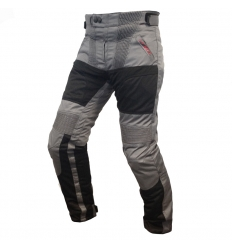 HEAT WAVE 4 SEASON - Pantalone moto uomo Man  a 3 strati - Antracite Nero