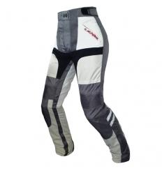 Pantalone moto donna Lady HEAT WAVE 4 SEASON a 3 strati colore Grigio chiaro