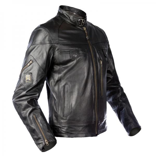 947411a9c0 Giubbotto moto uomo ICE MAN in Pelle colore Nero Lexel motorbike