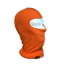Sottocasco moto unisex in cotone colore Arancio fluo