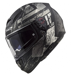 VECTOR HUNTER FF397 Casco  Integrale LS2   - Nero Titanio