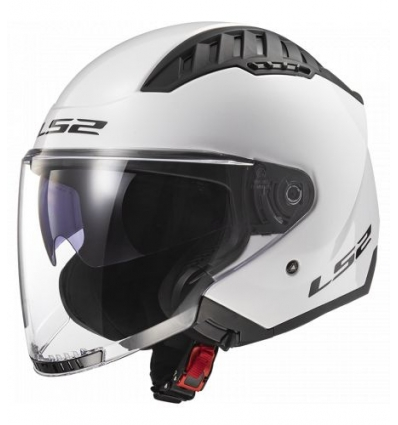 COPTER OF600 Casco Jet LS2 - Bianco Lucido