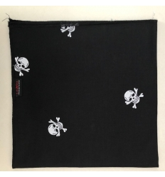 Bandana Skull - Nero